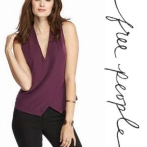 Free People Simply Days Cutout Envelope Top